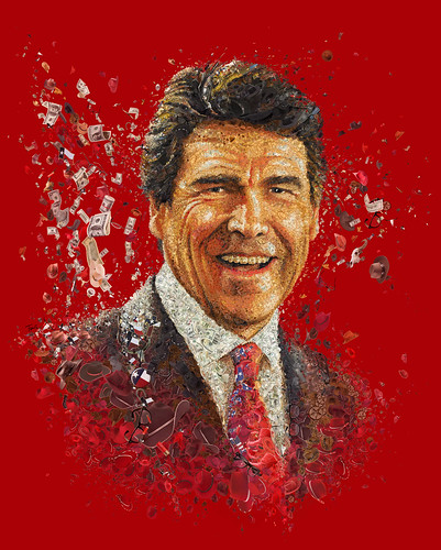 The New Rick Perry: A Mosaic portrait for National Journal