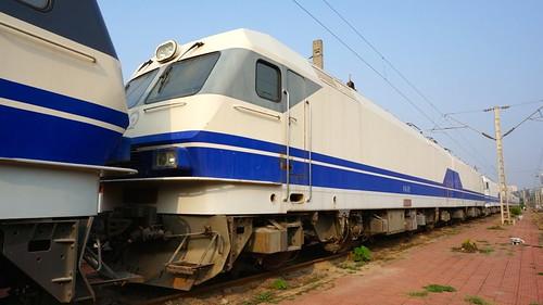 奥地利格拉兹原厂制造的DJ1机车。