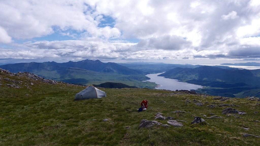 Wild camping on Ben Starav