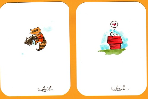 Rocket Raccoon & Snoopy