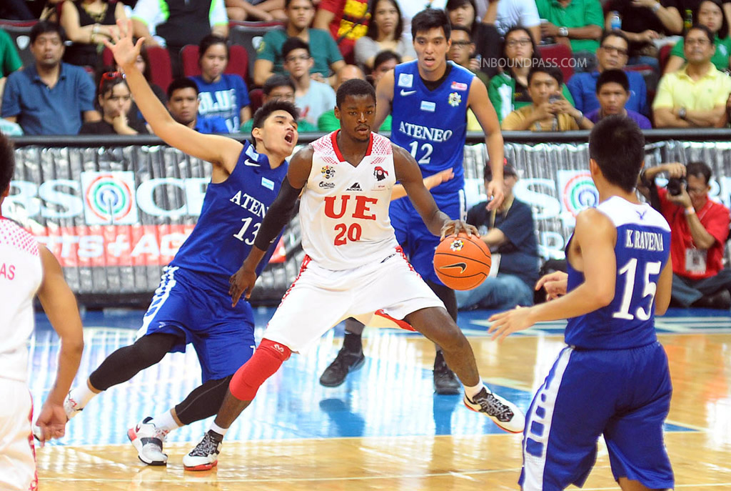 UAAP Season 77: Ateneo Blue Eagles vs. UE Red Warriors, Aug.10