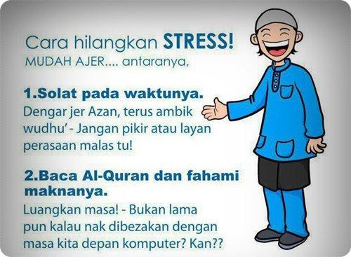 Cara Untuk Hilangkan Stress ~