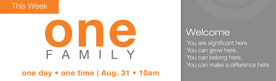 One Family homepage