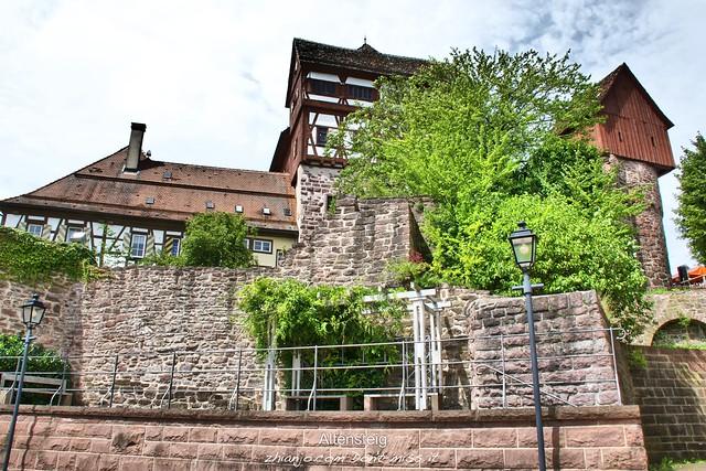 Germany, Castle Altensteig