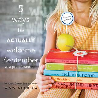 5 ways september blog meme