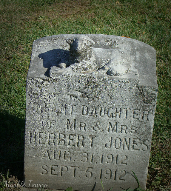 Walnut Hill Infant daughter Jones