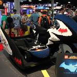 SDCC 2014 LEGO Batcycle