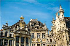The Grand place - Bruxelles