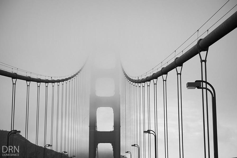 Fog B&W.