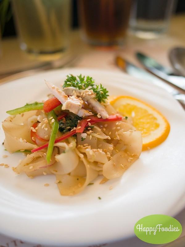 Singaporean Chicken Glass Noodles