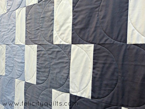 Modern Shadow quilting
