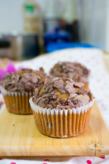 Cocoa-Dusted Cranberry Cereal Muffins