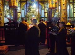Fuhu Temple ceremony, Emei Shan