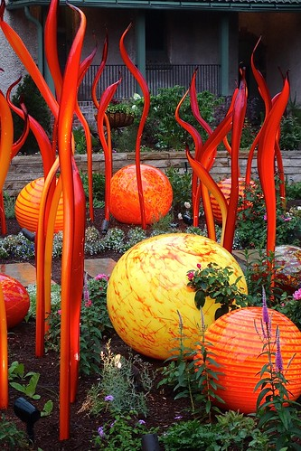 Dale Chihuly Exhibit - Denver Botanical Gardens