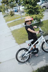 SAKURAKO takes a bike ride.