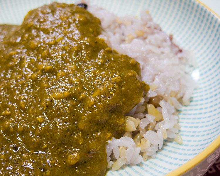 野菜と挽肉のカレー