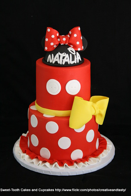 Minnie Mouse Cake Decorations Party City