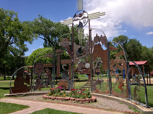 Grants, New Mexico - Welcome Sculpture