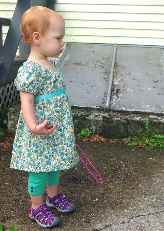 Poppies Raglan Dress