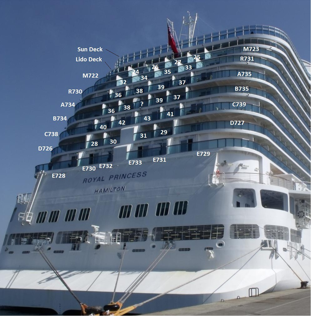 Regal Princess Which Cabin To Choose Cruise Critic