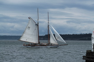IMG_0245 - Port Townsend WA - Schooner ADVENTURESS on opening day May 3rd, 2014