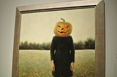 Pumpkinhead (self-portrait)