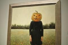 Pumpkinhead (self-portrait)