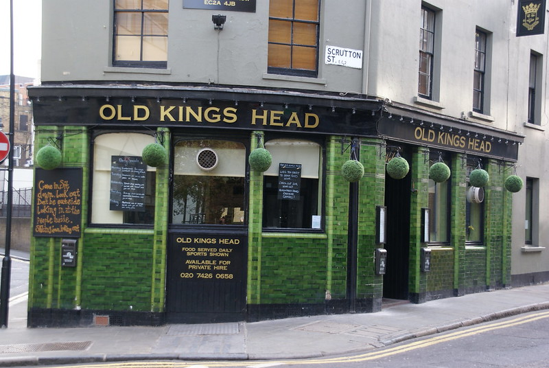 The Old Kings Head Scrutton Street London EC2