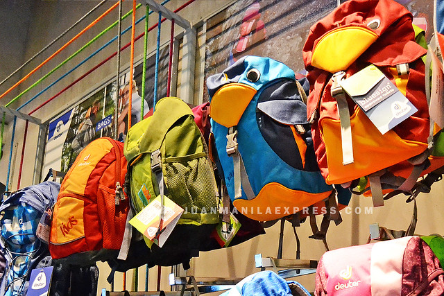 CUTE DEUTER KIDDIE BACKPACKS.