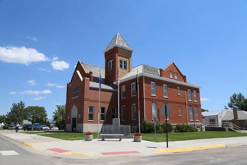 Rushville Nebraska, County Courthouse, Sheridan County NE