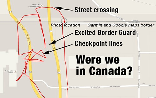 Map canada with words