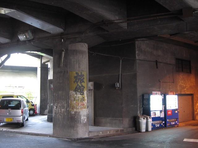 大阪 中津高架下建築 (2)