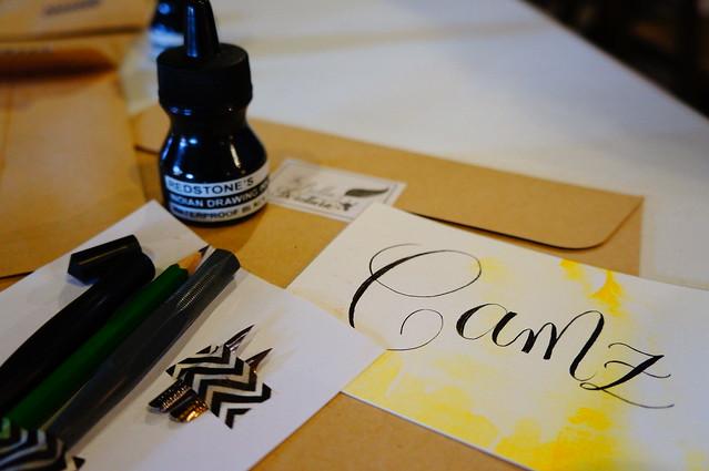 La Bella Scrittura Calligraphy Workshop