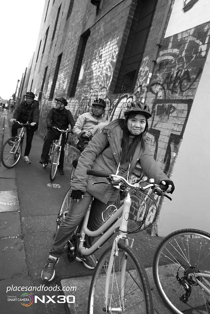 Melbourne city bw bike tour