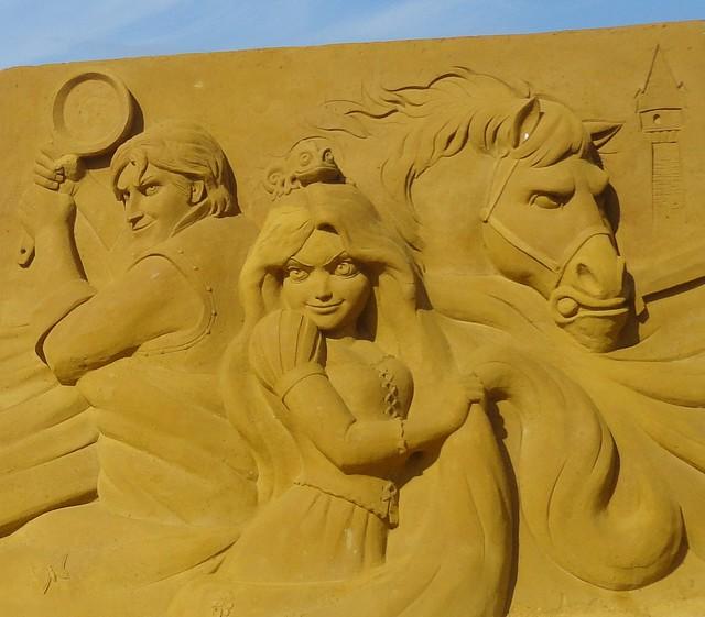 Sculpures sur sable Disney - News Touquet p.1 ! 14953850971_082ef1c395_z