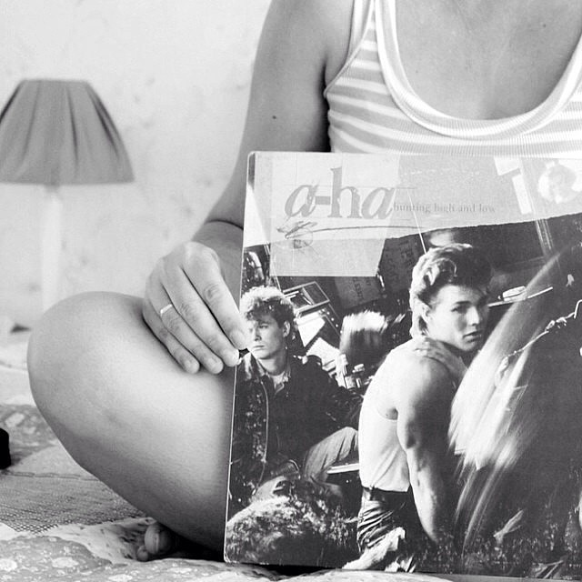 #desafioprimeira 6- O mundo é preto e branco: LP da Banda que eu adoro A-Ha.