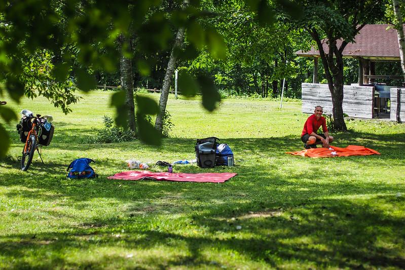 Niniu Campground, Hokkaido, Japan