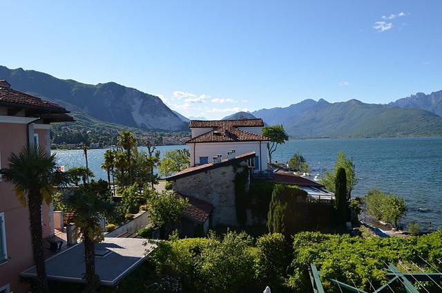 View from room in Hotel Belvedere, Isola Dei Pescatori, Lake Maggiore