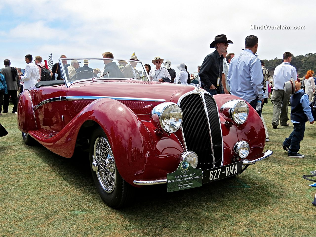 Pebble Beach 2014 Delahaye 135MS Figoni Falaschi