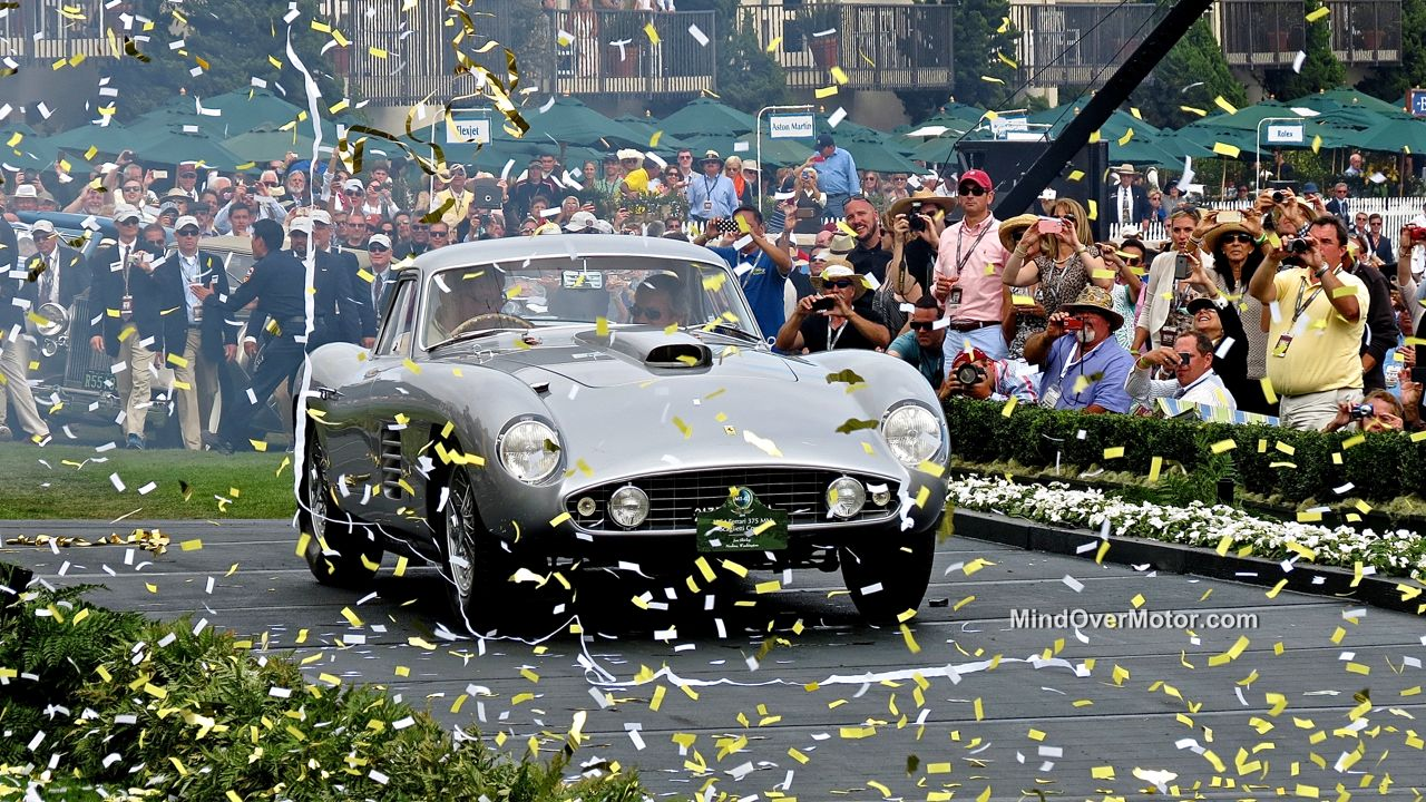 Pebble Beach 2014 Ferrari 375 MM Scaglietti Coupe Best In Show