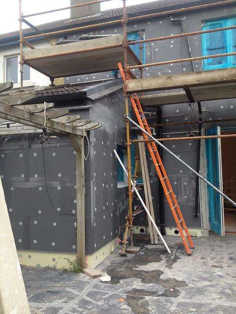 External Insulation Happening