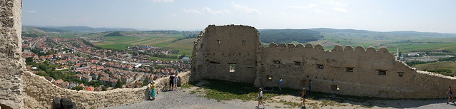 Rupea, the fortress and the city