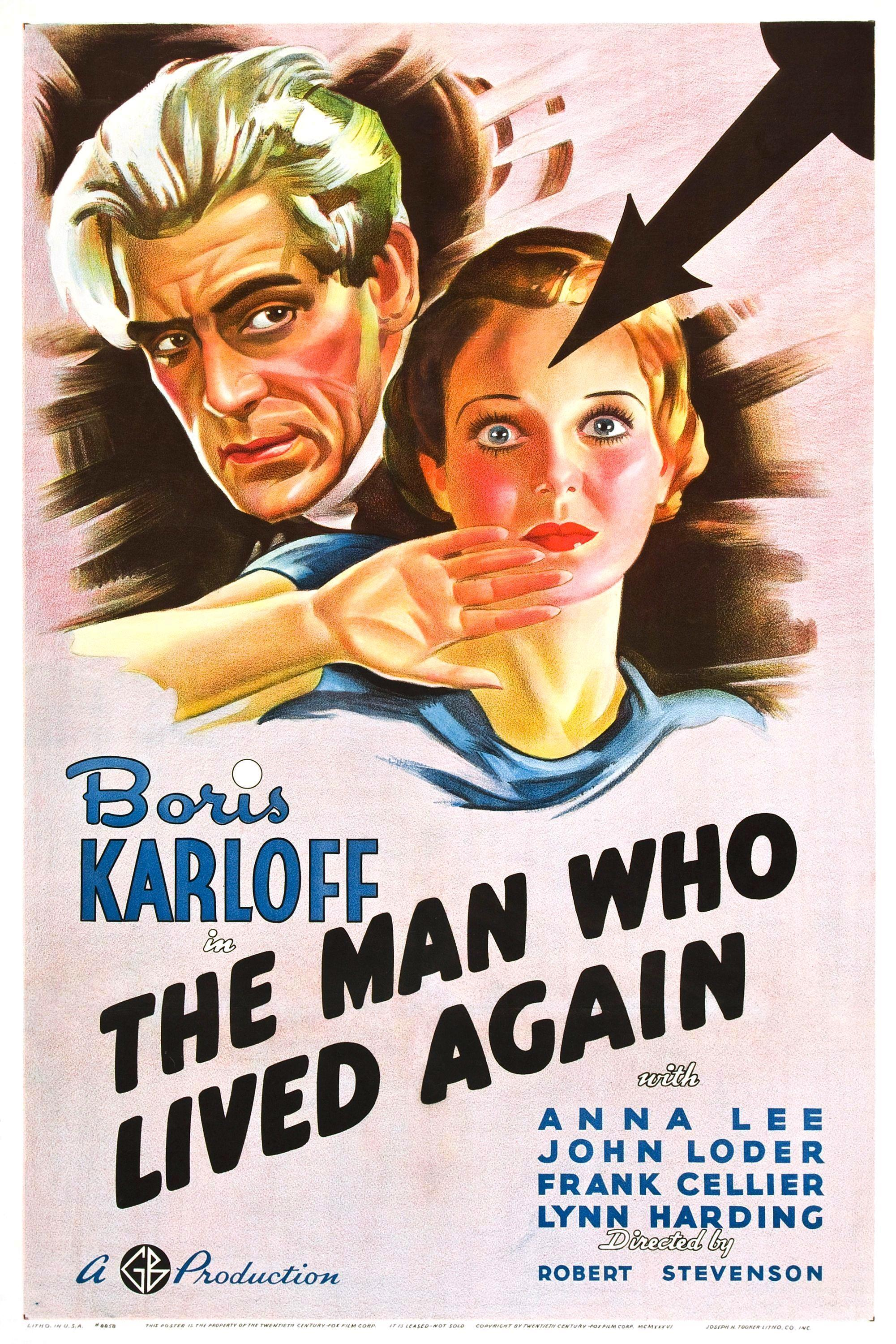The Man Who Lived Again (1936)