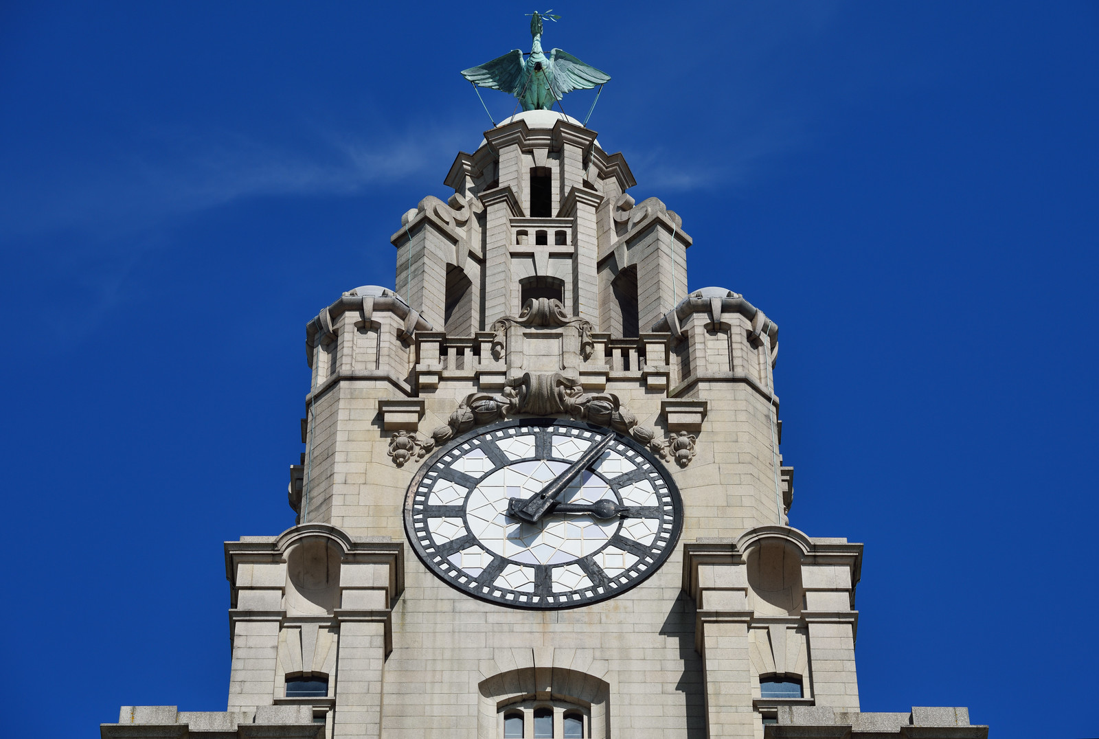 Liverbird and Clock