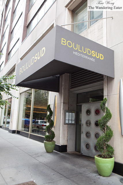 Exterior of Boulud Sud
