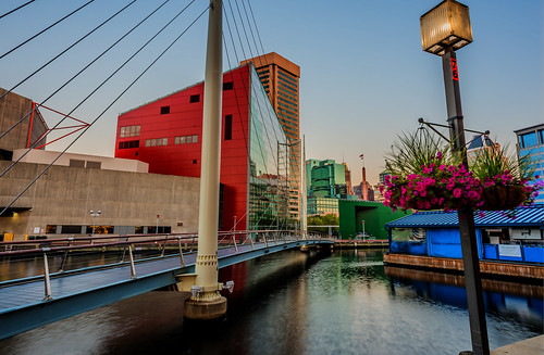The National Aquarium in Baltimore HDR by Geoff Livingston