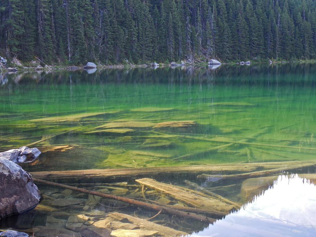 Revett Lake on Montana - Idaho border near Thompson Pass