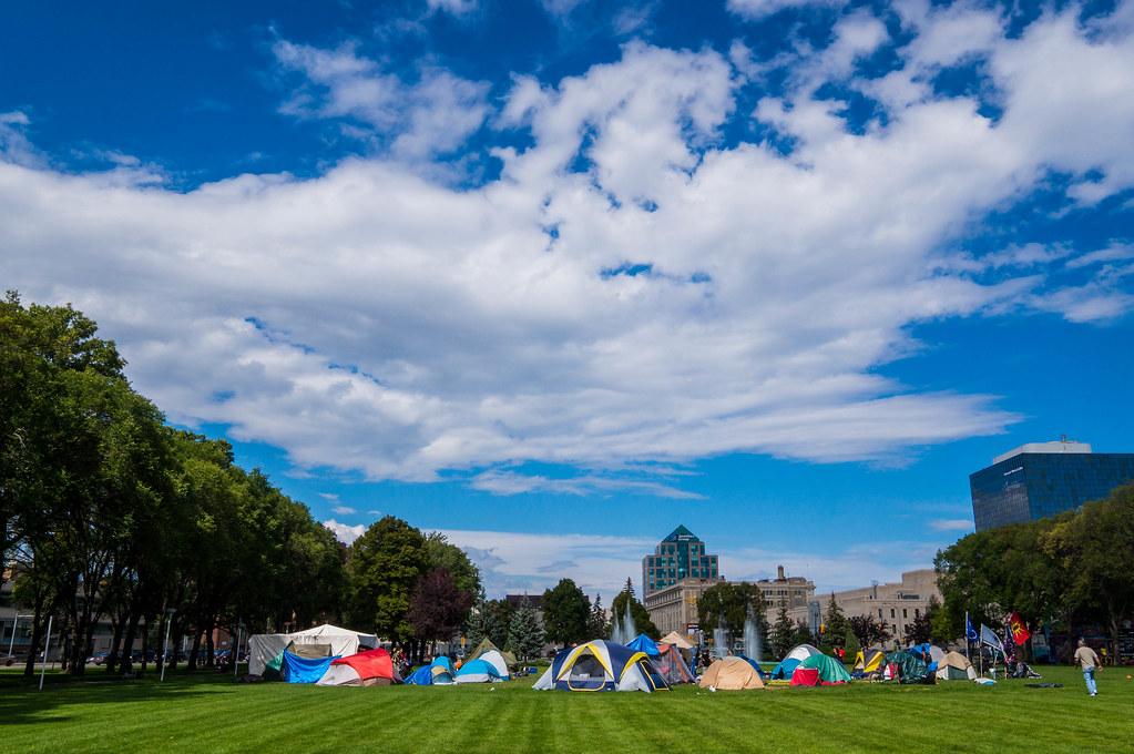 Memorial Park Winnipeg