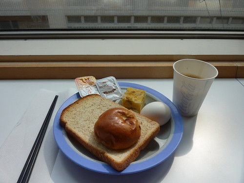 Breakfast。Super Hotel的自助早餐