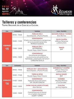 2014 Ecuador Salsa Congress